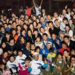 日本ヒートアイランド対策協議会200人BBQへ。