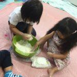パンダクラスの小麦粉粘土!!