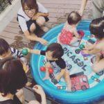 アヒルクラスのプール遊び♡