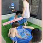 一時預かり保育🍉☀️プール遊び