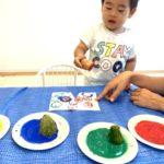 夏のイルカクラス・野菜スタンプ・プール